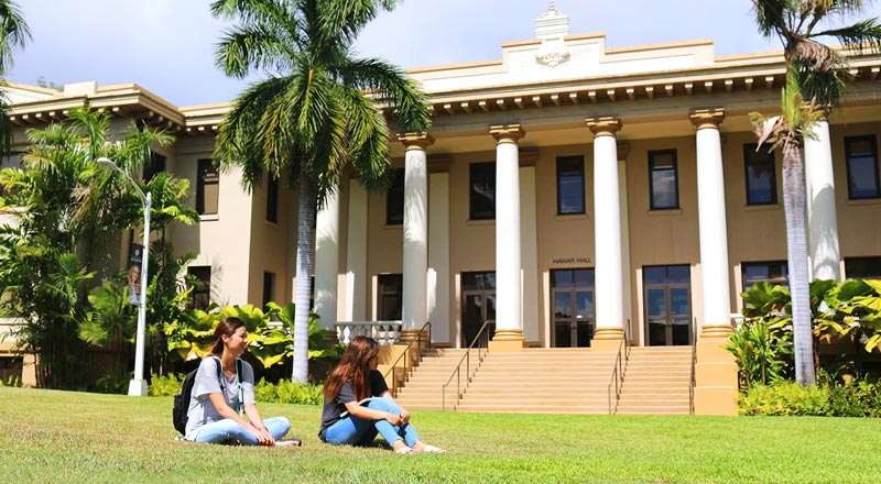 University of Hawaii Manoa(ハワイ大学)画像